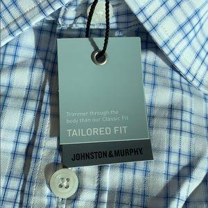 Johnston & Murphy Shirts - Men's Long Sleeve Button Down Shirt
